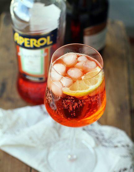 Comment faire un cocktail spritz – Elle à Table