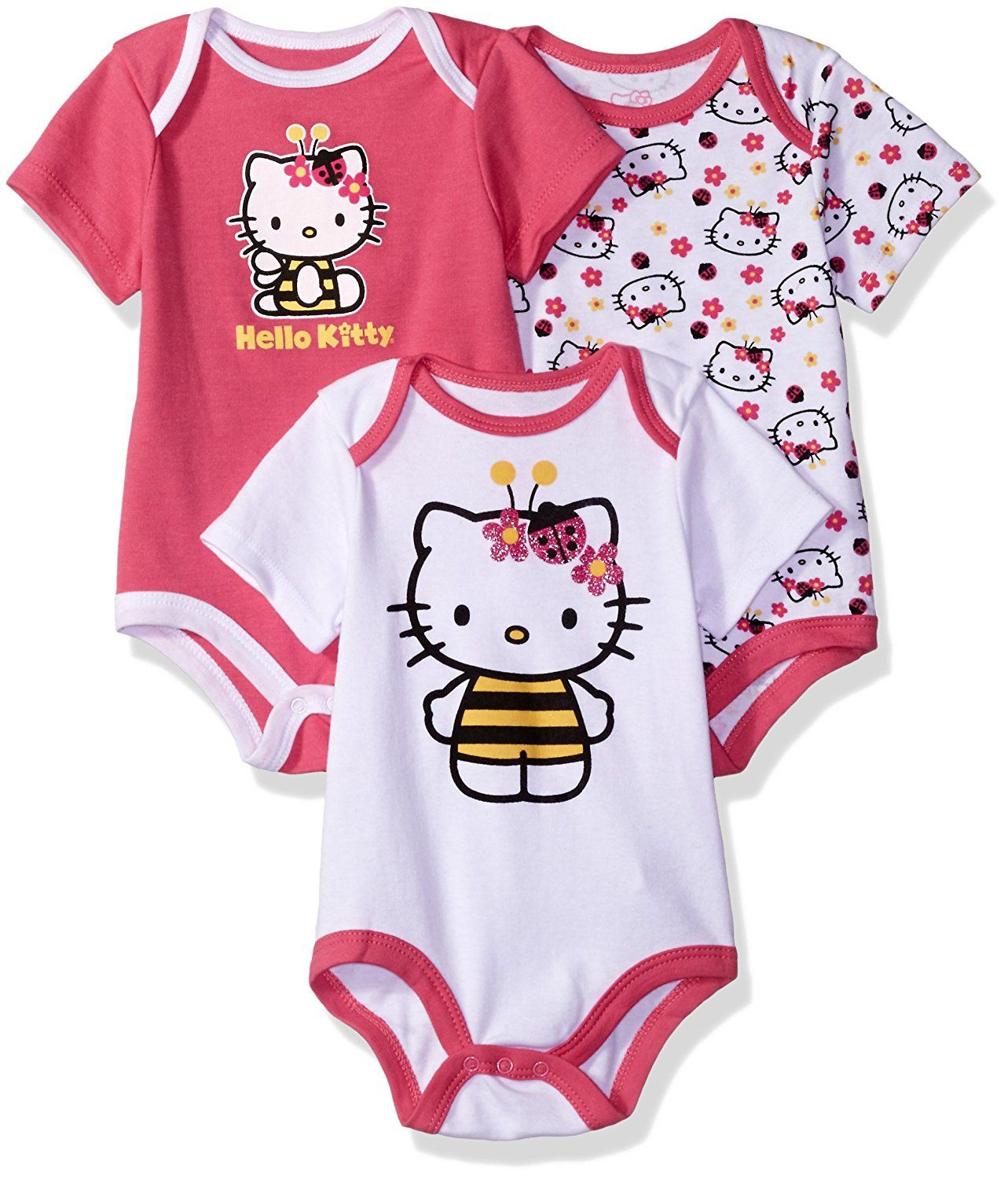 a7934613b Hello Kitty Girls' 3 Pack Boysuits -- Review more details here : Baby  clothes