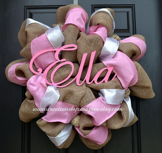 Best 25 Baby Girl Wreaths Ideas On Pinterest Baby