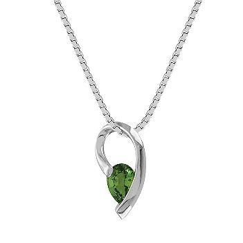 Pear shaped green sapphire pendant 18 pears pear shaped and pear shaped green sapphire pendant 18 in aloadofball Image collections