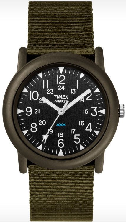 0d037ac15 Mens Green Timex Core Camper Military Style Watch T41711 | Common ...