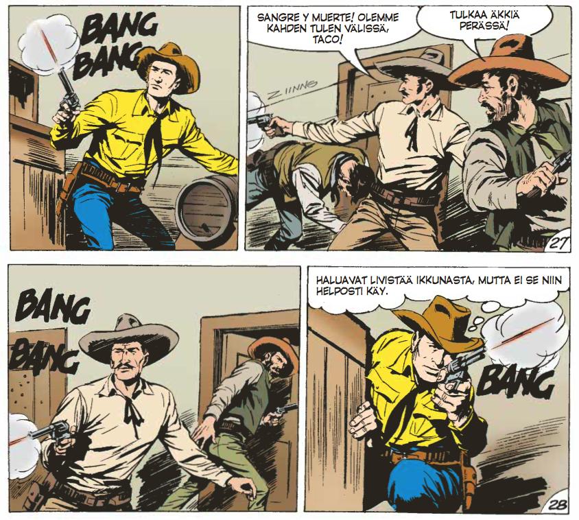Tex Willer Kirjasto 29: Terroria Rio Sonoralla. #sarjakuva #sarjis #egmont