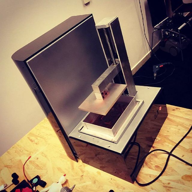 Something we liked from Instagram! #3DWARF #3dprinter #3dprinting #technology #resin #photopolymer by octopusengine check us out: http://bit.ly/1KyLetq