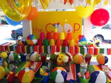 Indiana Jones Beach Ball Party Beach Themed Party Beach Birthday