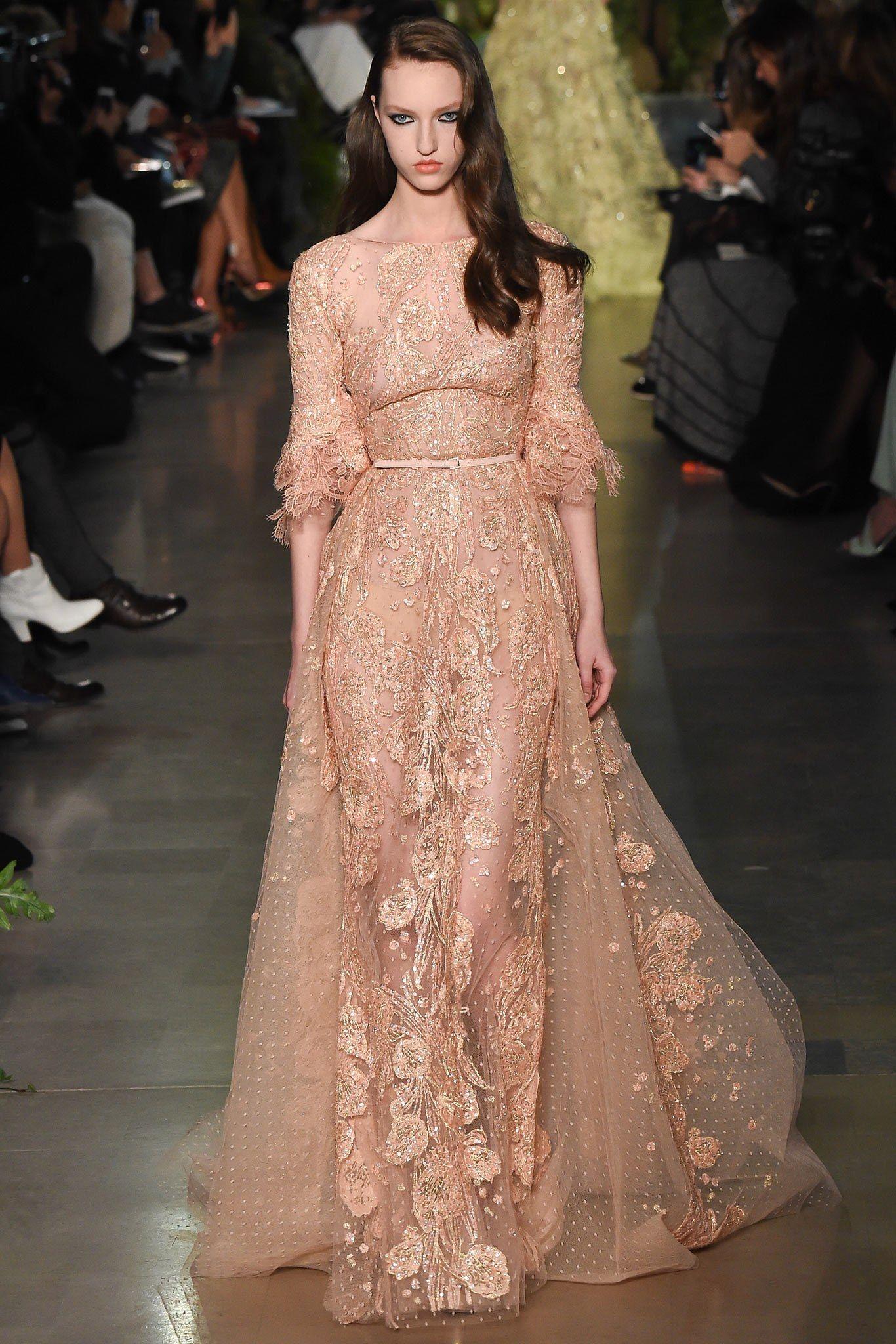 Elie saab spring couture fashion show elie saab spring