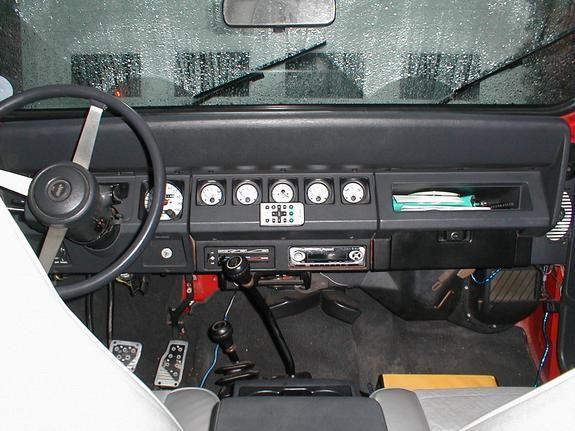 Jeep Wrangler TJL Interior