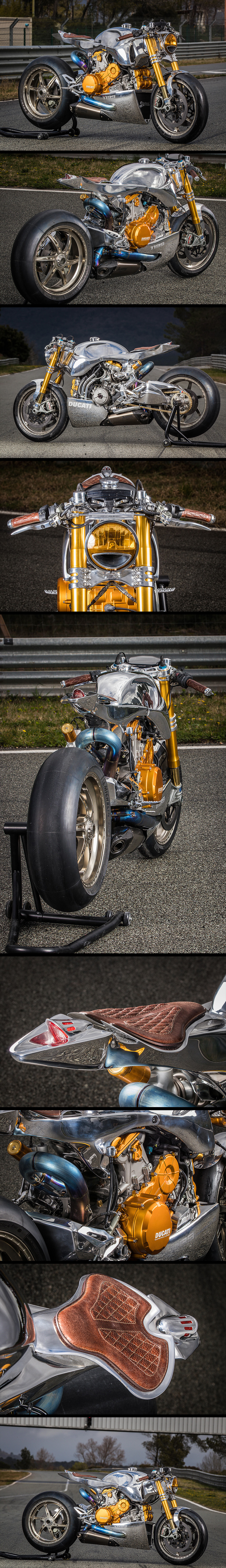 Ducati 1199 S Panigale Racer by Ortolani Customs