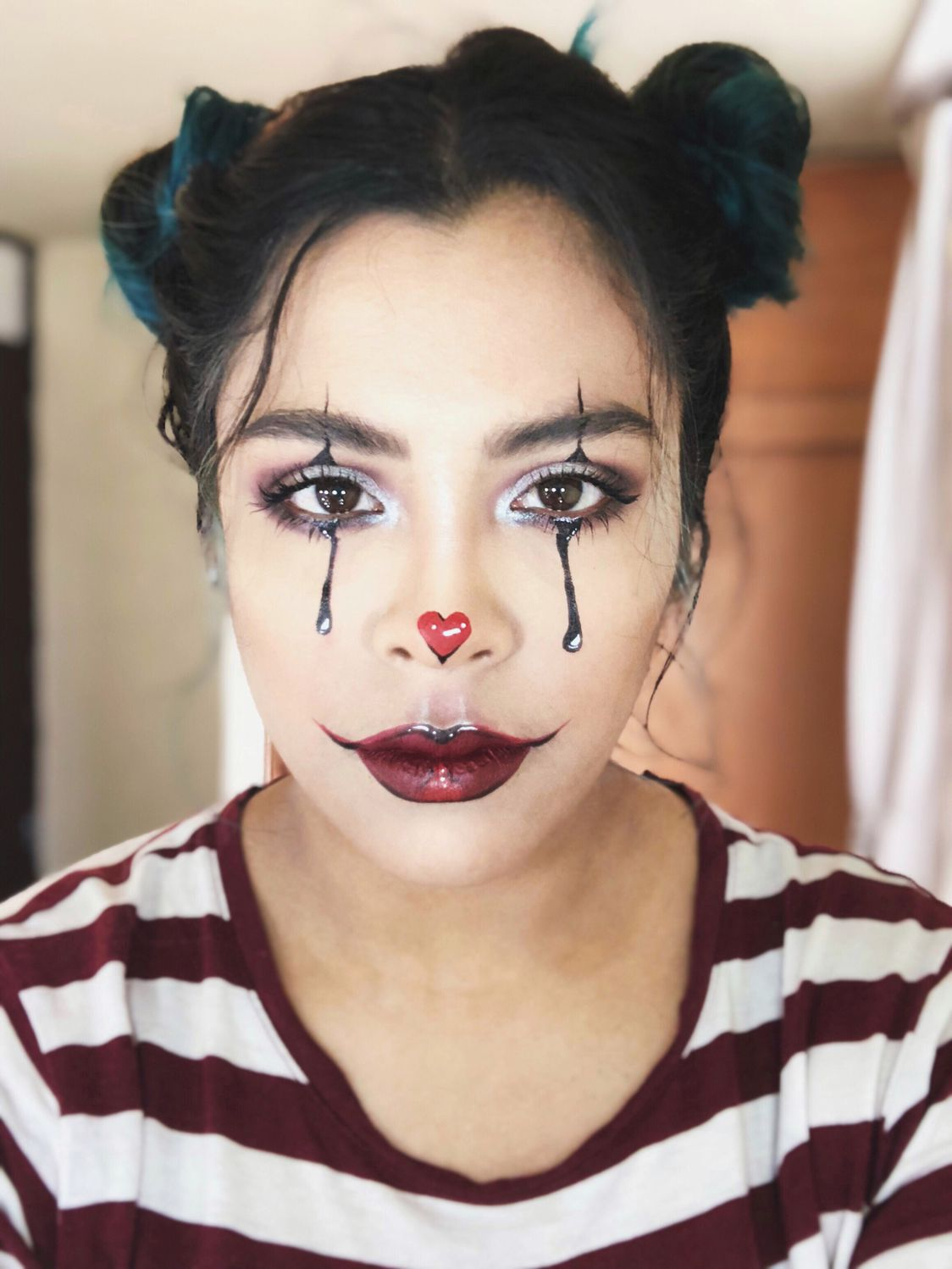 Clown Schminken Leicht Halloween Ideas Artistic Makeup Clown Makeup Halloween