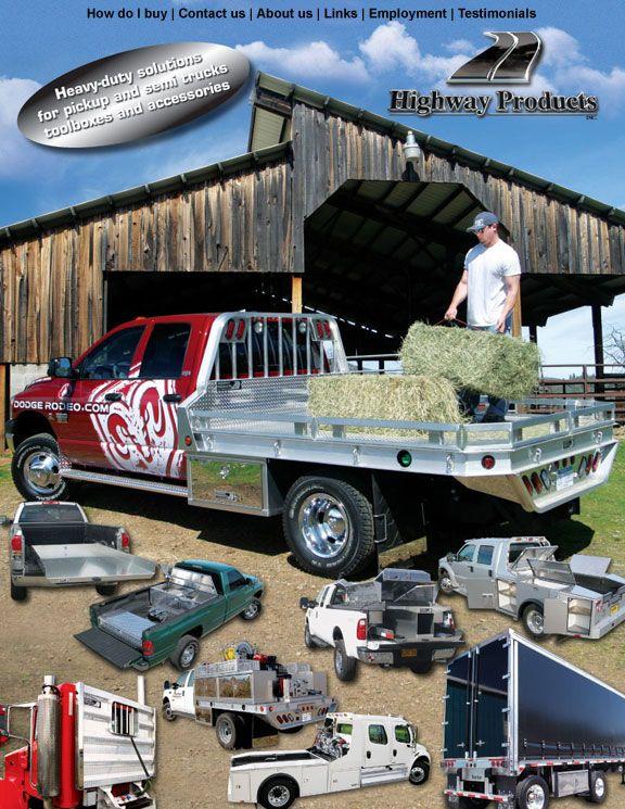 HEAVY GAUGE Aluminum Truck Tool Boxes, Pickup Truck
