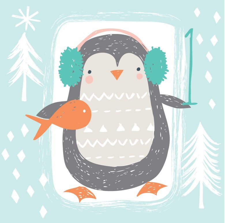 Advent day 1 illustration Pinterest Illustrations, Penguins