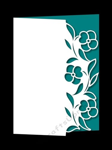 FLORAL OVER THE EDGE 25 by Apetroae Stefan With optional backing plate