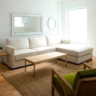 The Richmond sectional in linen latte! And more from Gus.