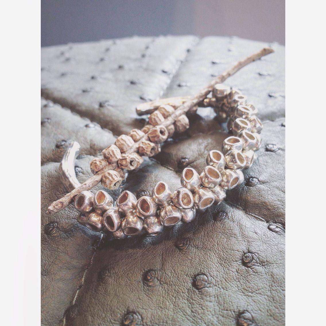 Bottlebrush Cuff - Gogo Jewelry