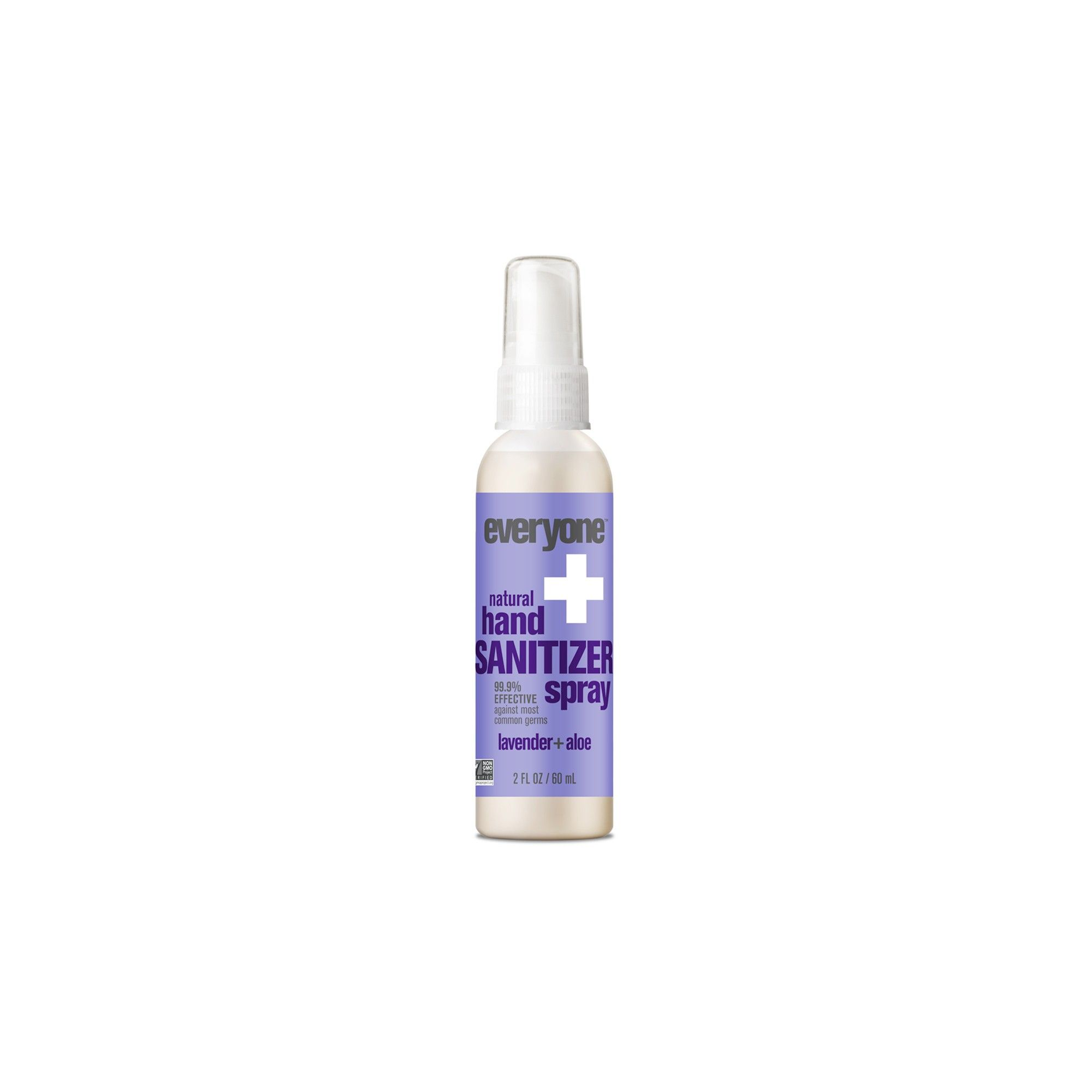 Everyone Natural Lavender Aloe Hand Sanitizer Spray 2 Fl Oz