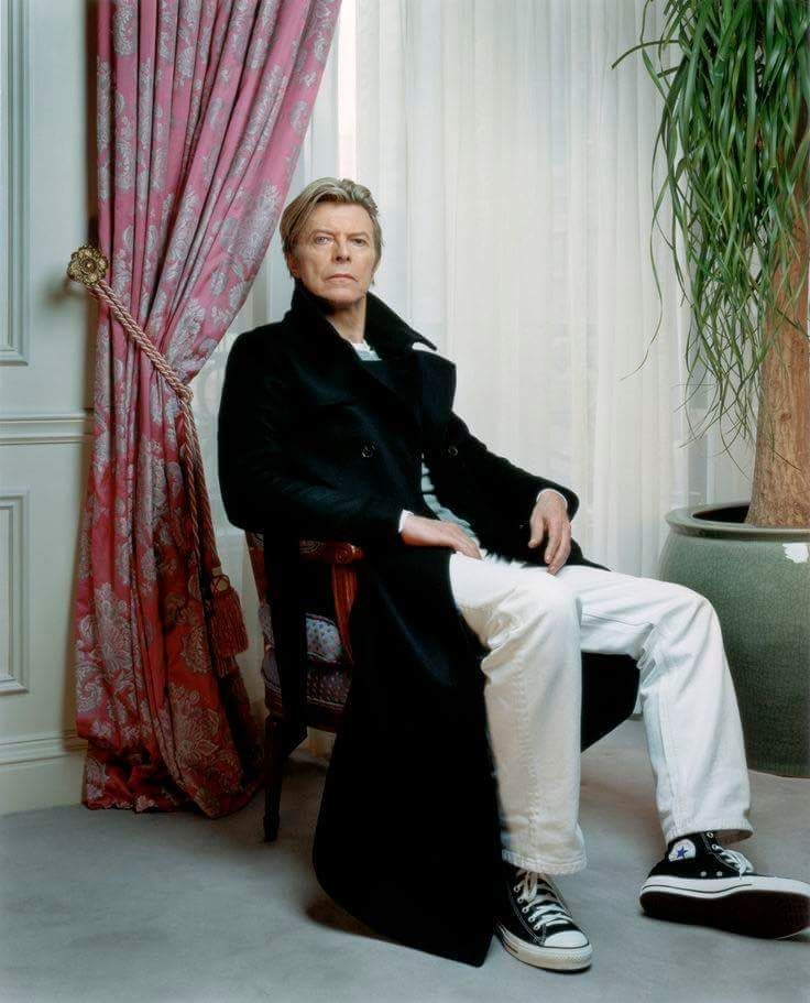David Bowie photographed by Robert Maxwell for Complex Magazine's August/September 2003 issue