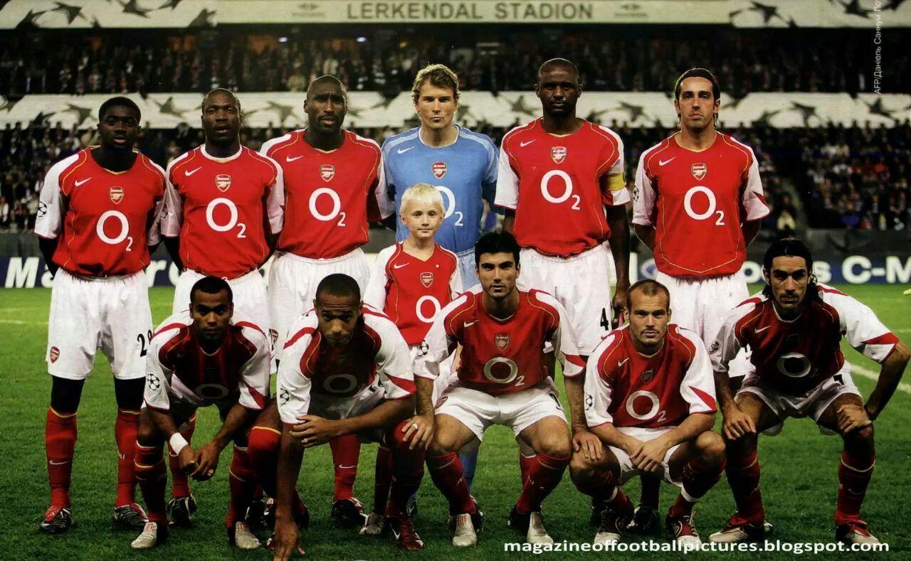 Arsenal The Invisibles Futbol