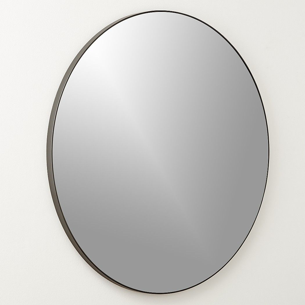 Infinity Black Round Wall Mirror 36 Reviews Round Wall Mirror Mirror Wall Mirror