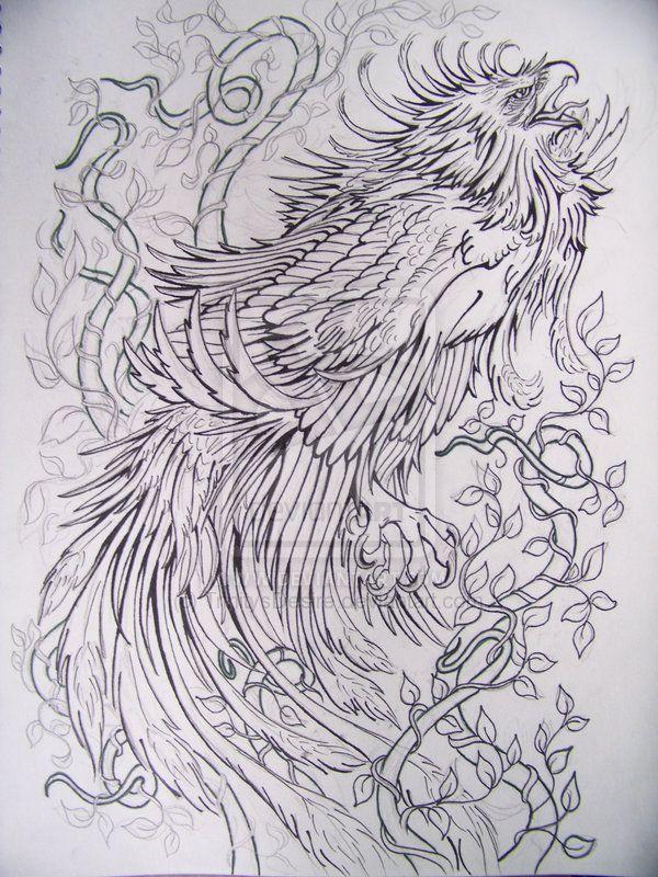 Phoenix By Trinitysdesire On Deviantart Phoenix Tattoo Japanese Phoenix Tattoo Japanese Tattoo Designs