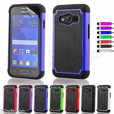 519175b581f Nuevo A Prueba De Golpes Funda Para Samsung Galaxy Ace 4 Protector De  Pantalla