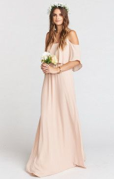 da757fbbcecb Champagne, Cream & Ivory Color Bridesmaid Dresses & Gowns | Show Me Your  MuMu