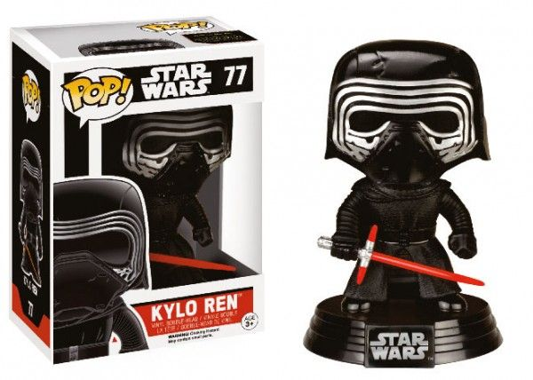 Funko POP! Star Wars Episode VII The Force Awakens – Kylo Ren Helmeted Vinyl Figure 10cm Exclusive limited