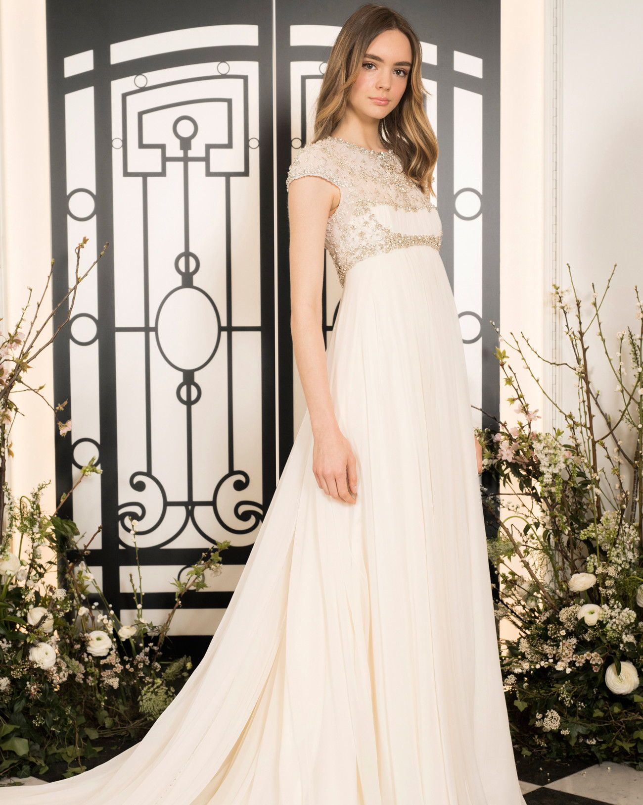 Jenny Packham Spring 2020 Wedding Dress Collection Jenny Packham Bridal Jenny Packham Wedding Dresses Empire Wedding Dress