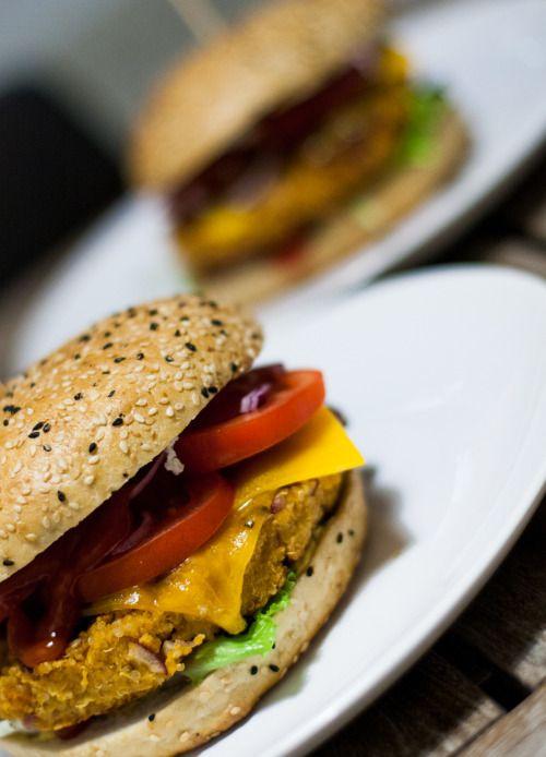 Vegane Quinoa-Burger!