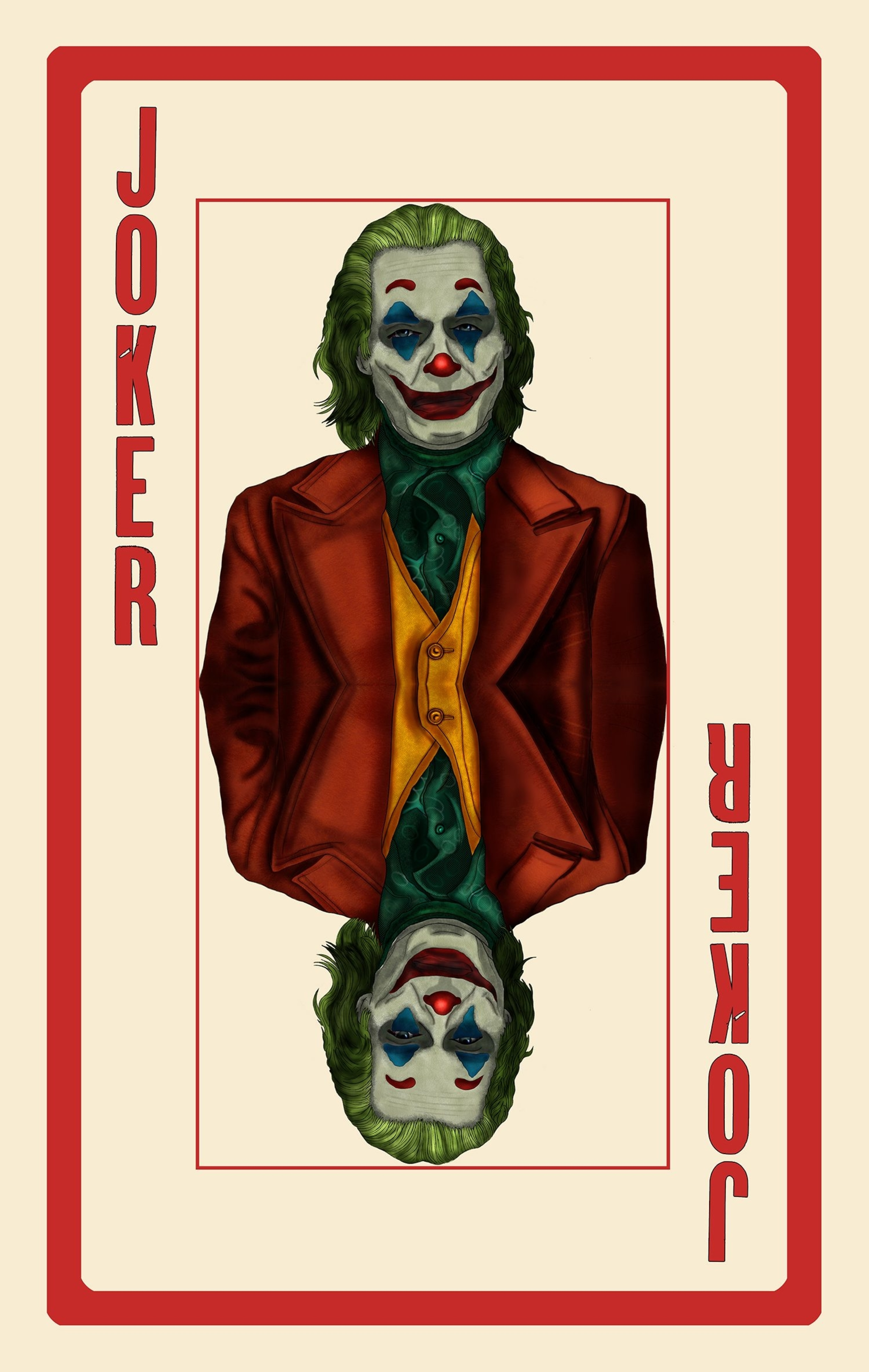 Joker (2019) [2851 4500] by Too Many Chads Joker poster