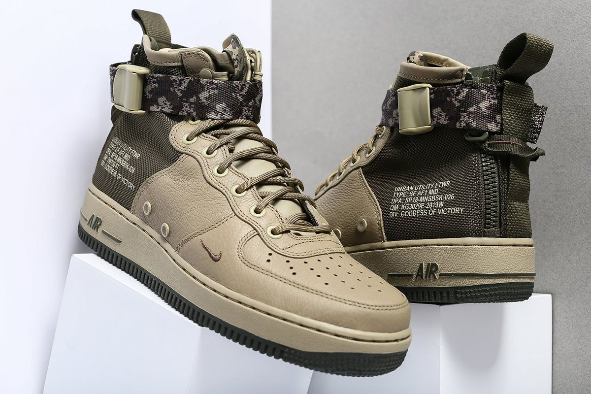 online store 8a1ed ca5b1 Nike Sportswear s military influenced retelling of the Air Force 1 is  making the rounds with camo