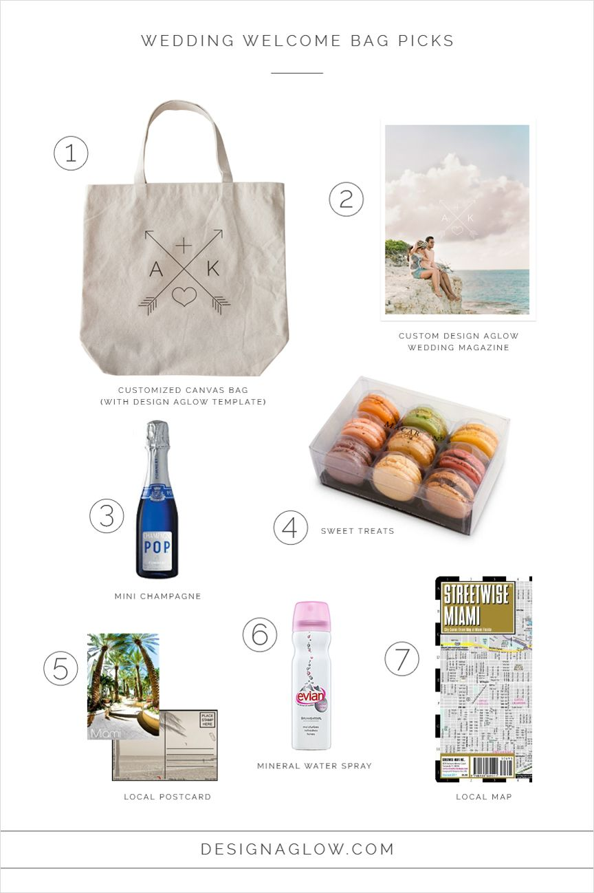 Diy Luxury Destination Wedding Welcome Gifts For Guests