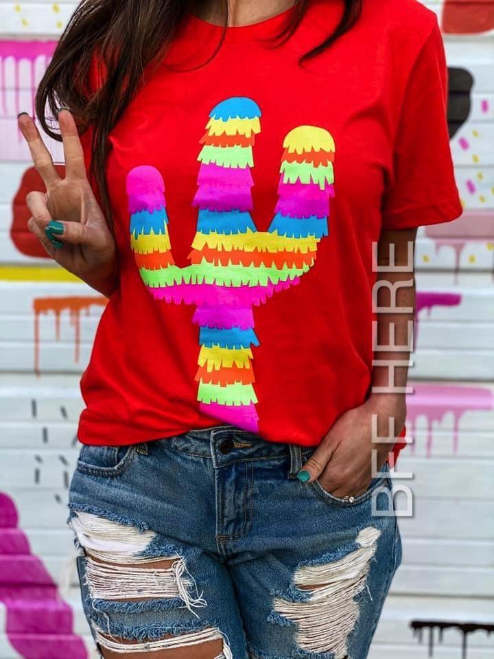 Fiesta Cactus T-shirt - X-Large