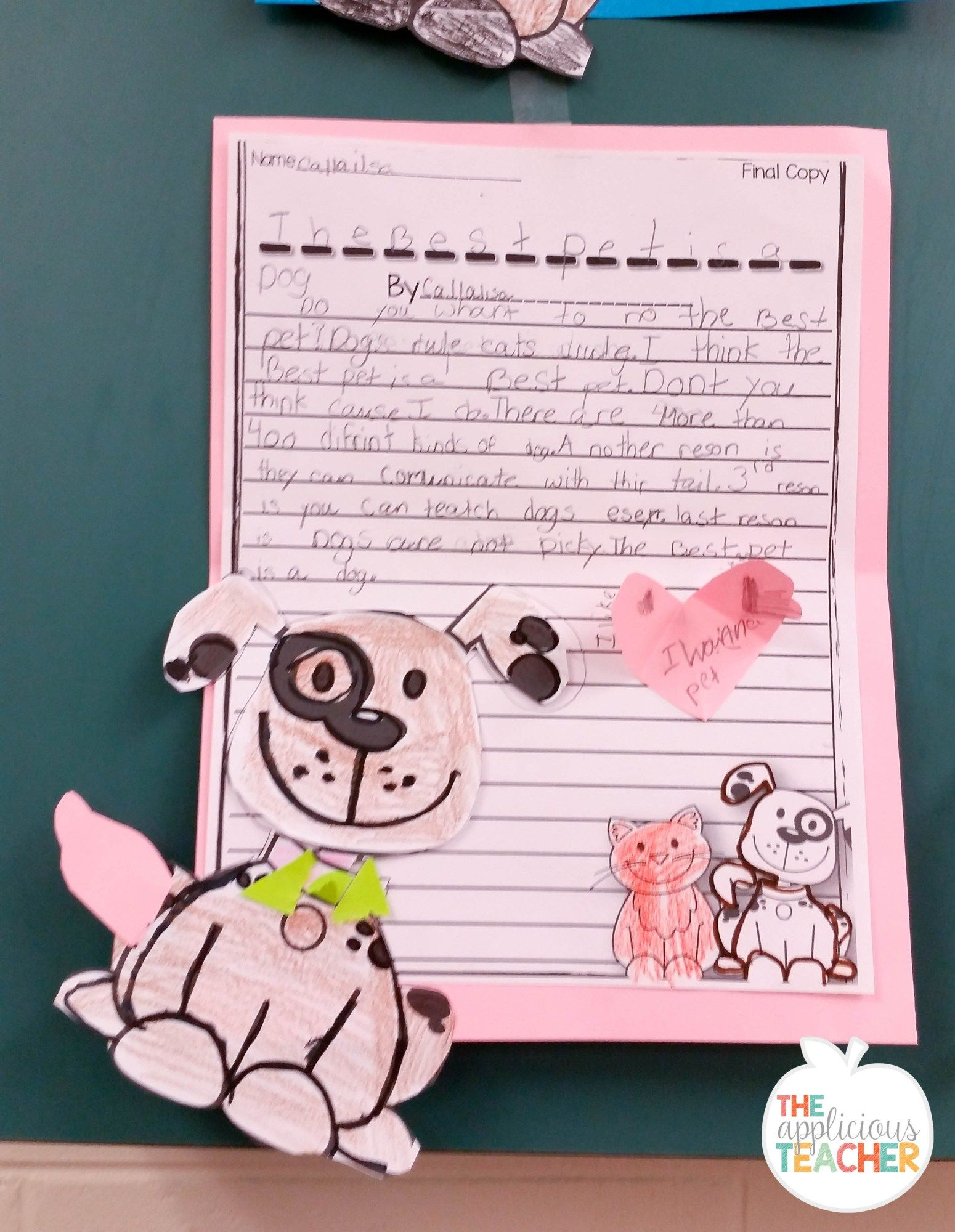 Persuasive Writing The Battle Of The Pets