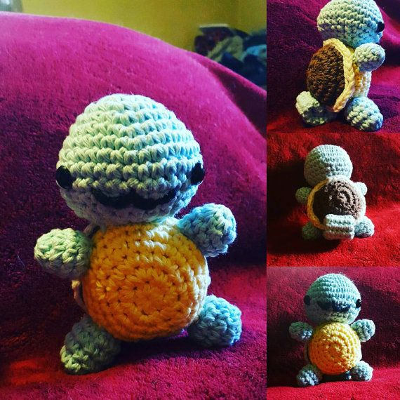 Hey, I found this really awesome Etsy listing at https://www.etsy.com/listing/469328769/squirtle-pokemon-crochet-doll