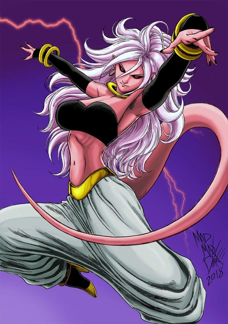 Majin Androide 21 Female dragon, Anime dragon ball