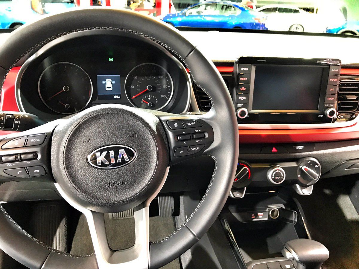 Check Out The Interior Of The All New 2018 Kia Rio The 7 Inch