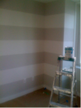 benjamin moore gray paint colors room striped accent walls rh pinterest ch