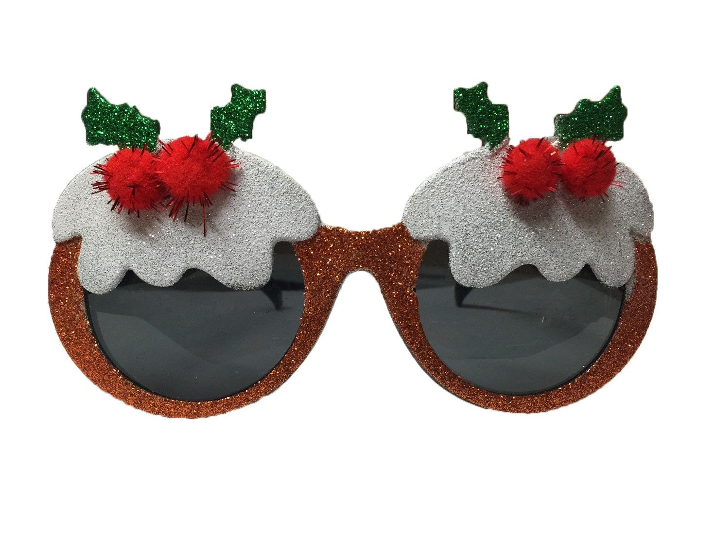 Details About CHRISTMAS NOVELTY GLASSES PARTY SANTA