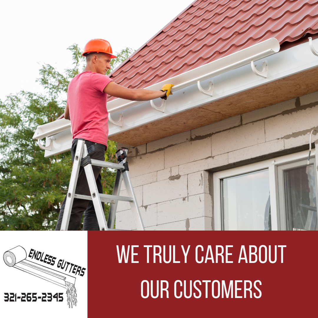 We Truly Care About Our Customers We Offer A Lifetime Warranty On Workmanship And An Industry Lead How To Install Gutters Seamless Gutters Gutter Maintenance