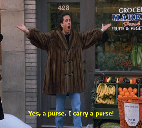 Seinfeld quote - Jerry after his European carryall is stolen, 'The Reverse  Peephole' | Seinfeld, Jerry seinfeld, Seinfeld quotes