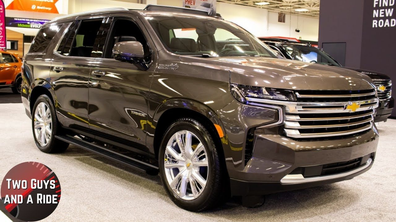 2021 Chevy Tahoe High Country Big Bold And Refined Chevy Tahoe Chevrolet Tahoe Chevy