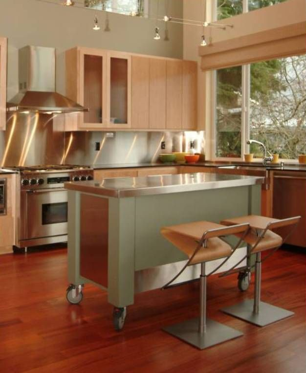 mobile kitchen island with seating | Kitchen Island Ideas ...