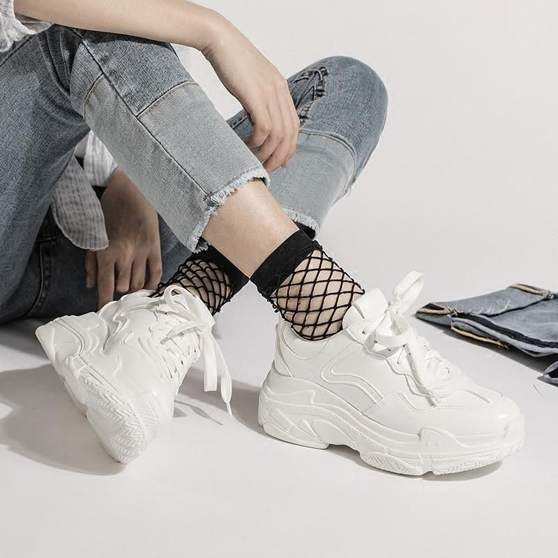 New 2019 Summer Casual Women Sneakers Air Mesh Breathable