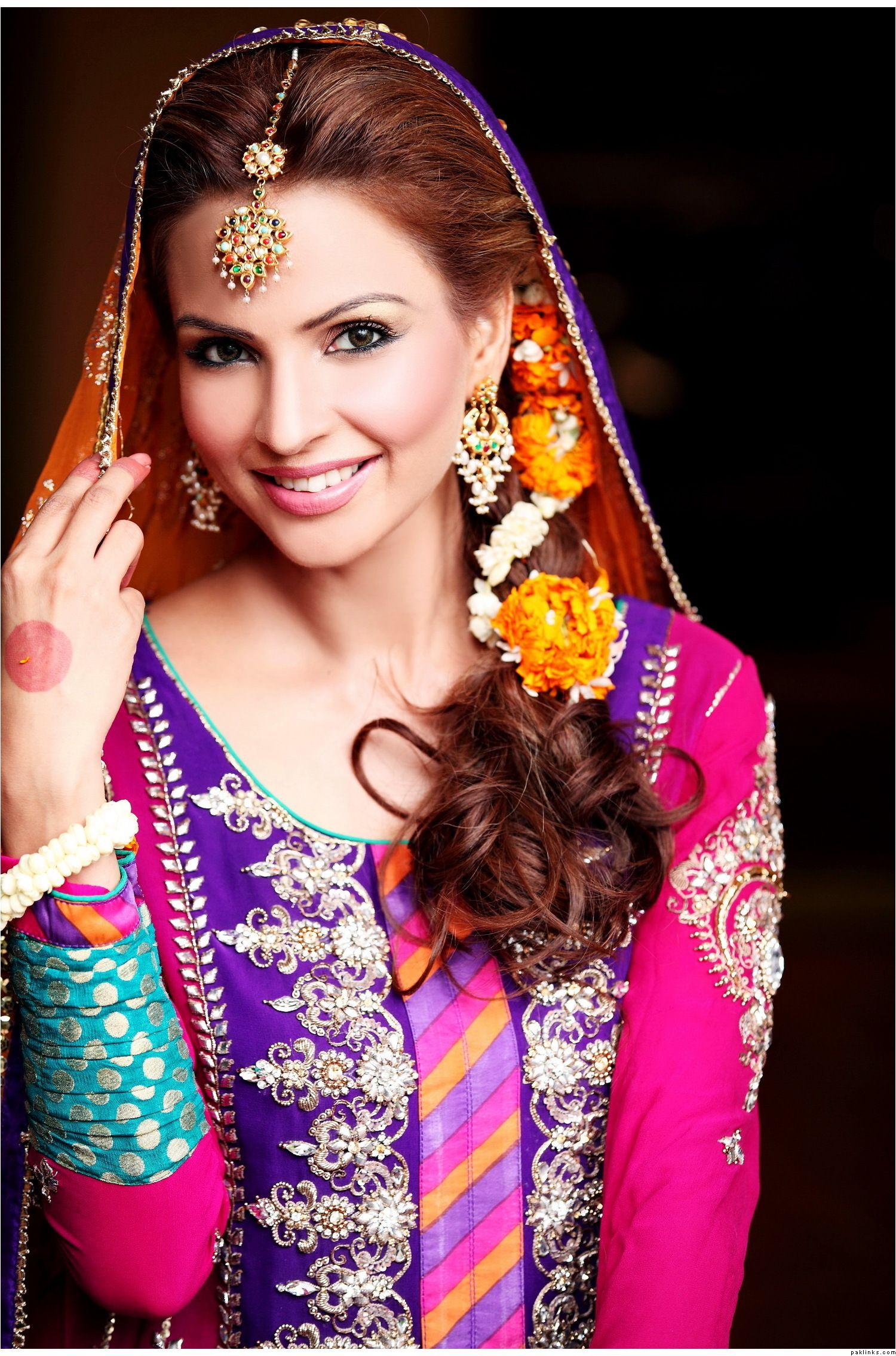 mehndi bride - flowers | bridal hairstyles | pinterest | weddings