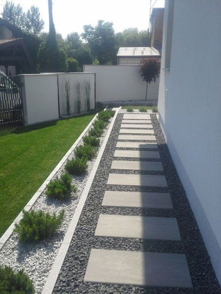 Frische und schöne Gartenlandschaftsbauideen mit kleinem Budget 62 #landschafts...