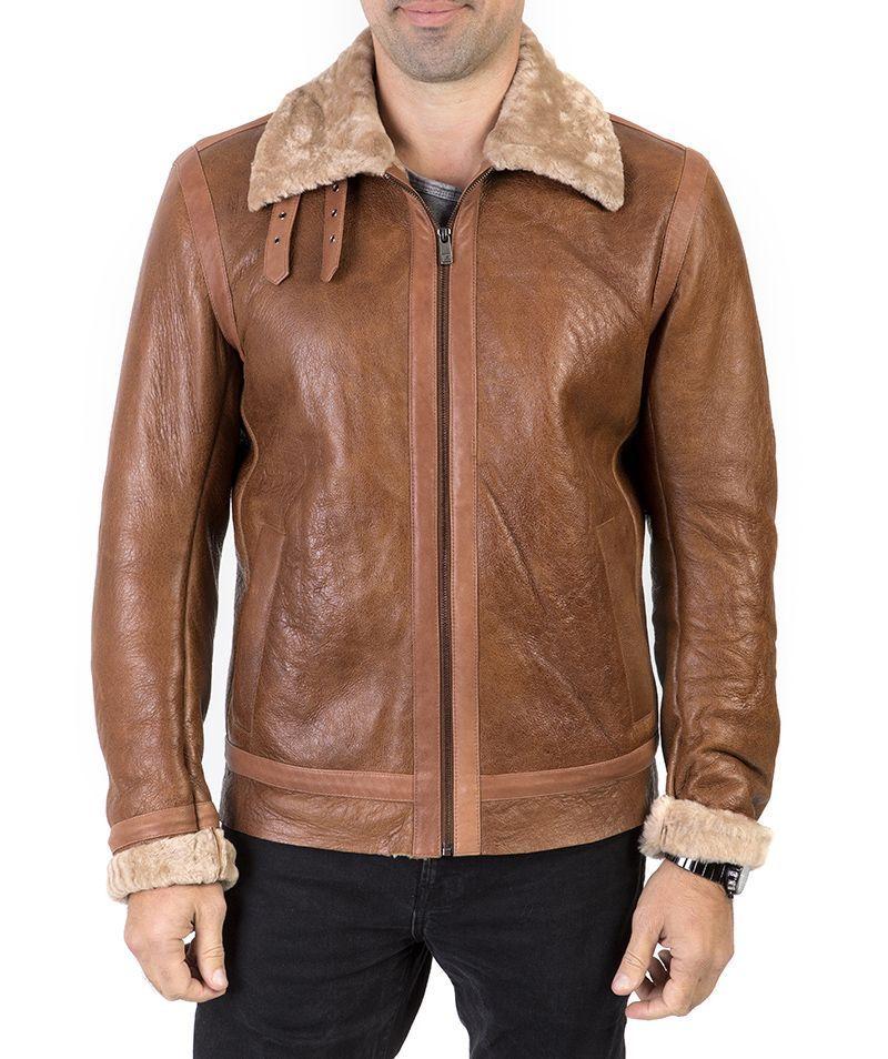 ed1ac1a3f Guy Laroche Leather Jacket   John-Andy.com   Men's Leather Jackets ...