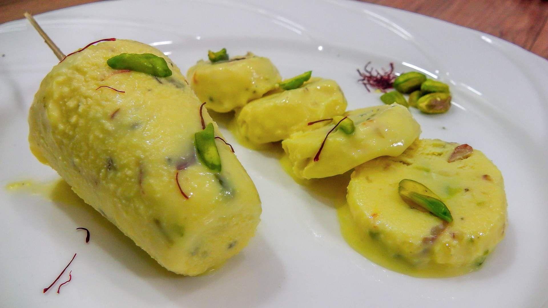 Indian traditional ice cream kulfi vegetarian recipes food forumfinder Choice Image