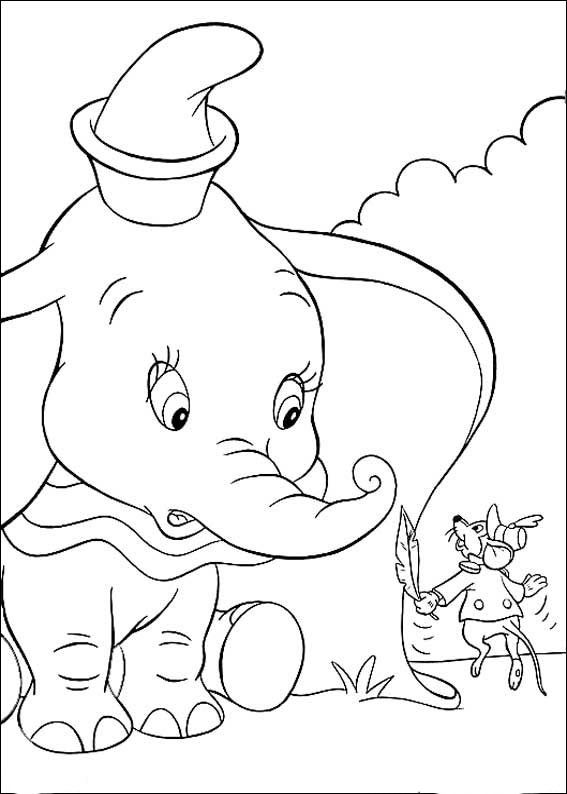 Dibujos para Colorear Dumbo 7 | Coloring Pages 2 | Pinterest ...