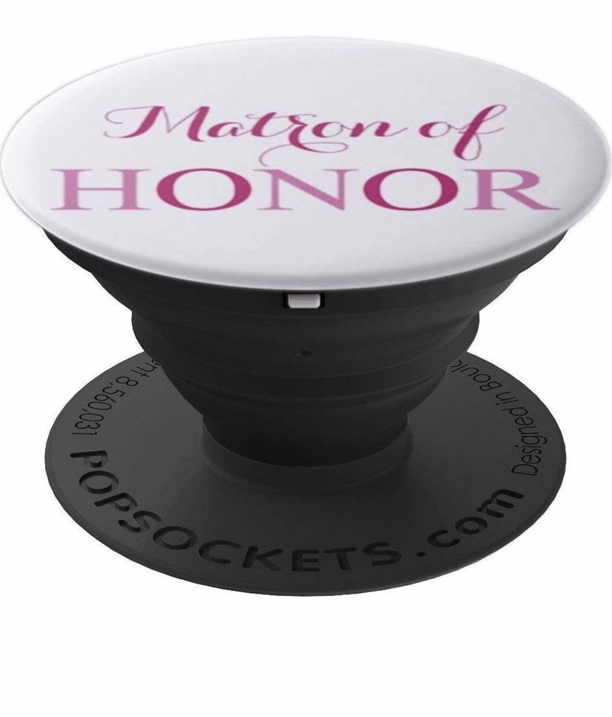 Matron of honor engagement newlywed gift popsockets grip