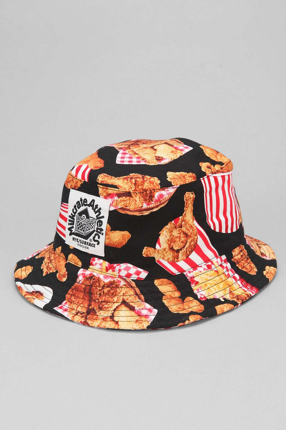 Milkcrate Athletics Fried Chicken Bucket Hat - Urban Outfitters ... fa90d134f7b