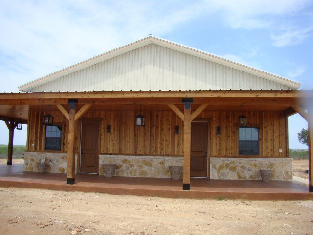 Our portfolio of metal buildings homes ranches and more for Metal buildings made into houses